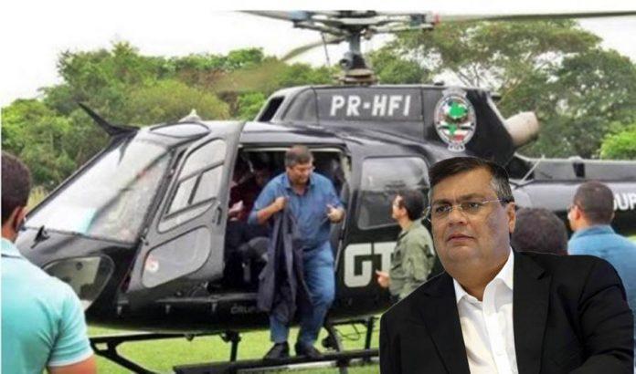 Compra de combustível de helicóptero põe gestão de Flávio Dino na mira da PGR